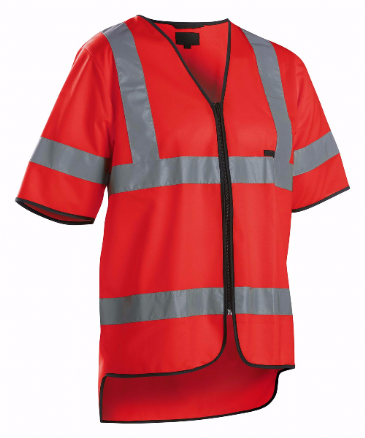 Blaklader 3023 High Vis Vest Class 3 (Red)